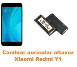 Cambiar auricular altavoz Xiaomi Redmi Y1