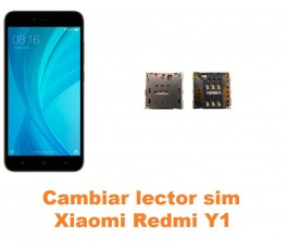 Cambiar lector sim Xiaomi Redmi Y1