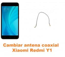 Cambiar antena coaxial Xiaomi Redmi Y1