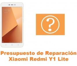 Presupuesto de reparación Xiaomi Redmi Y1 Lite