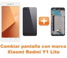 Cambiar pantalla completa con marco Xiaomi Redmi Y1 Lite