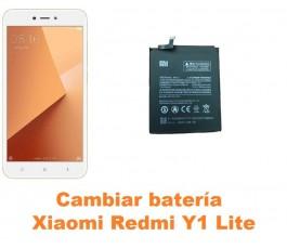 Cambiar batería Xiaomi Redmi Y1 Lite
