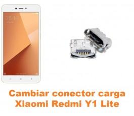 Cambiar conector carga Xiaomi Redmi Y1 Lite