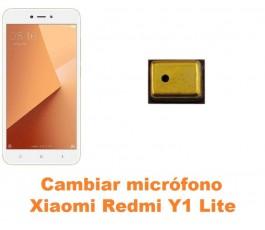 Cambiar micrófono Xiaomi Redmi Y1 Lite