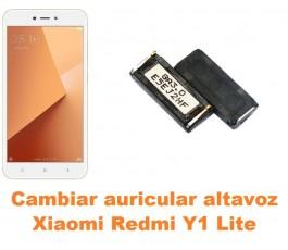 Cambiar auricular altavoz Xiaomi Redmi Y1 Lite
