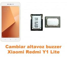 Cambiar altavoz buzzer Xiaomi Redmi Y1 Lite