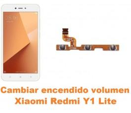 Cambiar encendido y volumen Xiaomi Redmi Y1 Lite
