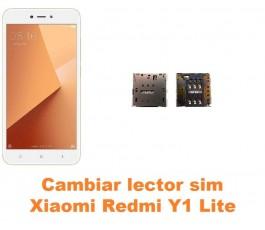 Cambiar lector sim Xiaomi Redmi Y1 Lite