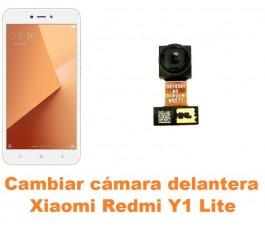 Cambiar cámara delantera Xiaomi Redmi Y1 Lite
