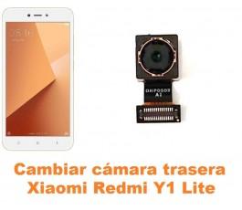 Cambiar cámara trasera Xiaomi Redmi Y1 Lite