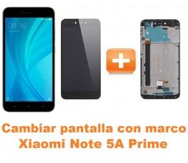 Cambiar pantalla completa con marco Xiaomi Note 5A Prime