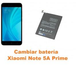 Cambiar batería Xiaomi Note 5A Prime