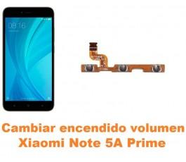 Cambiar encendido y volumen Xiaomi Note 5A Prime