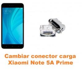 Cambiar conector carga Xiaomi Note 5A Prime