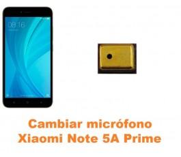 Cambiar micrófono Xiaomi Note 5A Prime