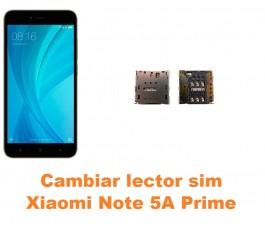 Cambiar lector sim Xiaomi Note 5A Prime