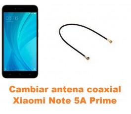 Cambiar antena coaxial Xiaomi Note 5A Prime
