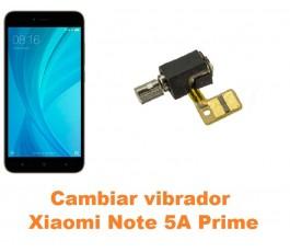 Cambiar vibrador Xiaomi Note 5A Prime