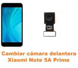 Cambiar cámara delantera Xiaomi Note 5A Prime