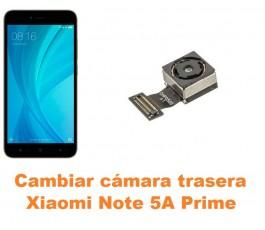 Cambiar cámara trasera Xiaomi Note 5A Prime