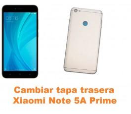 Cambiar tapa trasera Xiaomi Note 5A Prime