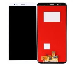 Pantalla completa táctil y lcd para Huawei Y7 2018 blanco