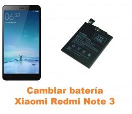 Cambiar batería Xiaomi Redmi Note 3