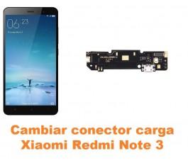 Cambiar conector carga Xiaomi Redmi Note 3