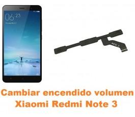 Cambiar encendido y volumen Xiaomi Redmi Note 3