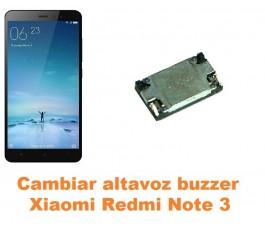 Cambiar altavoz buzzer Xiaomi Redmi Note 3
