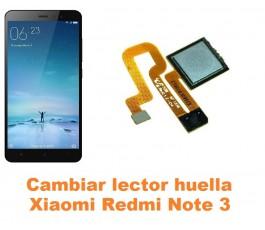 Cambiar lector huella Xiaomi Redmi Note 3