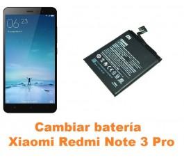 Cambiar batería Xiaomi Redmi Note 3 Pro