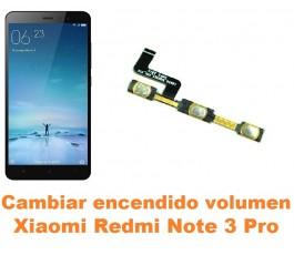 Cambiar encendido y volumen Xiaomi Redmi Note 3 Pro