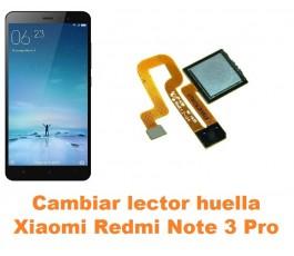 Cambiar lector huella Xiaomi Redmi Note 3 Pro