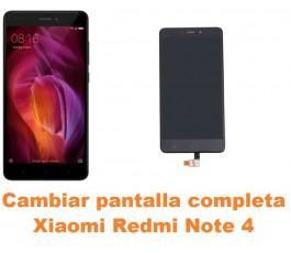 Cambiar pantalla completa Xiaomi Redmi Note 4
