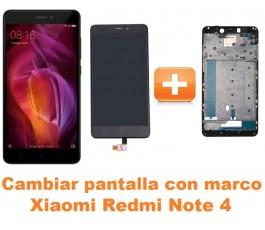 Cambiar pantalla completa con marco Xiaomi Redmi Note 4