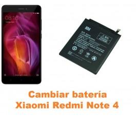 Cambiar batería Xiaomi Redmi Note 4