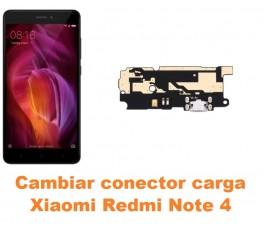 Cambiar conector carga Xiaomi Redmi Note 4