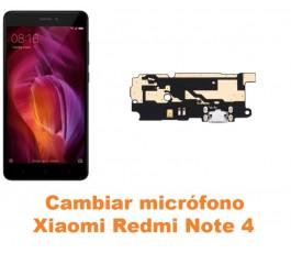 Cambiar micrófono Xiaomi Redmi Note 4