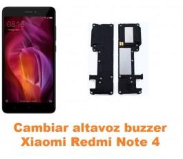 Cambiar altavoz buzzer Xiaomi Redmi Note 4