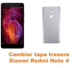 Cambiar tapa trasera Xiaomi Redmi Note 4