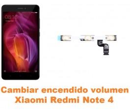 Cambiar encendido y volumen Xiaomi Redmi Note 4