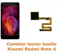 Cambiar lector huella Xiaomi Redmi Note 4
