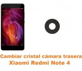 Cambiar cristal cámara trasera Xiaomi Redmi Note 4