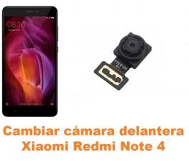 Cambiar cámara delantera Xiaomi Redmi Note 4