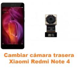 Cambiar cámara trasera Xiaomi Redmi Note 4