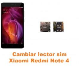 Cambiar lector sim Xiaomi Redmi Note 4