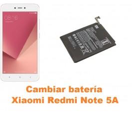 Cambiar batería Xiaomi Redmi Note 5A
