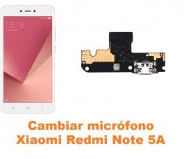 Cambiar micrófono Xiaomi Redmi Note 5A
