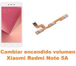 Cambiar encendido y volumen Xiaomi Redmi Note 5A